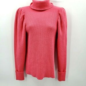 Anthropologie knitted knotted sweater xs ribbed